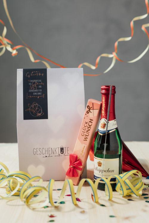 Geburtstag Geschenkidee Prosecco